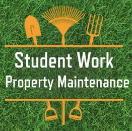 Student Work Property Maintenance
